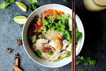 Vietnamesisk lunch eller middag på Hanoi Pho