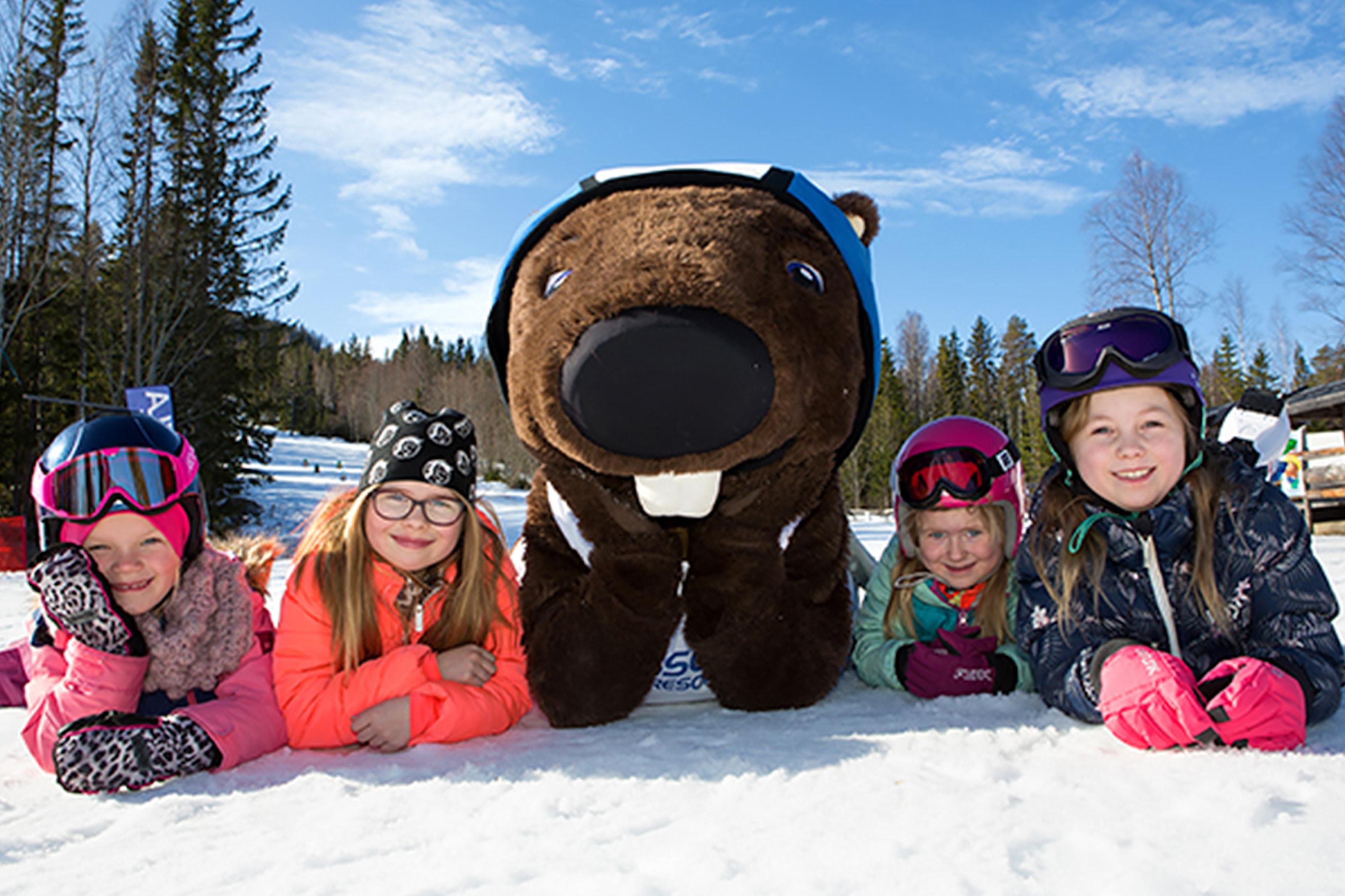 Bennys Barnveckor på Hassela Ski Resort