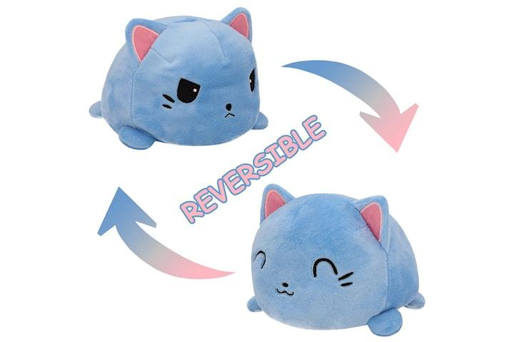 Vändbar Katt - Blå