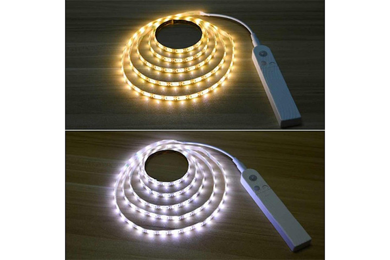 LED-remsa med rörelsesensor