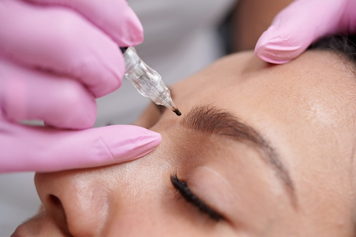Microblading 3D hos Glam Care Clinic