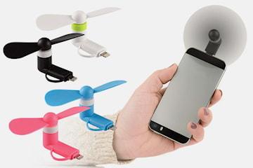 Vifte til mobilen 4-pack