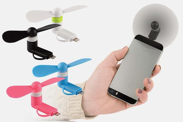 Fläkt för mobilen 4-pack