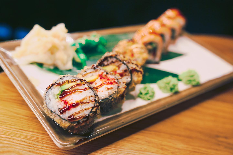 20 bitar exklusiv sushi på Sushi Shop (1 av 2)