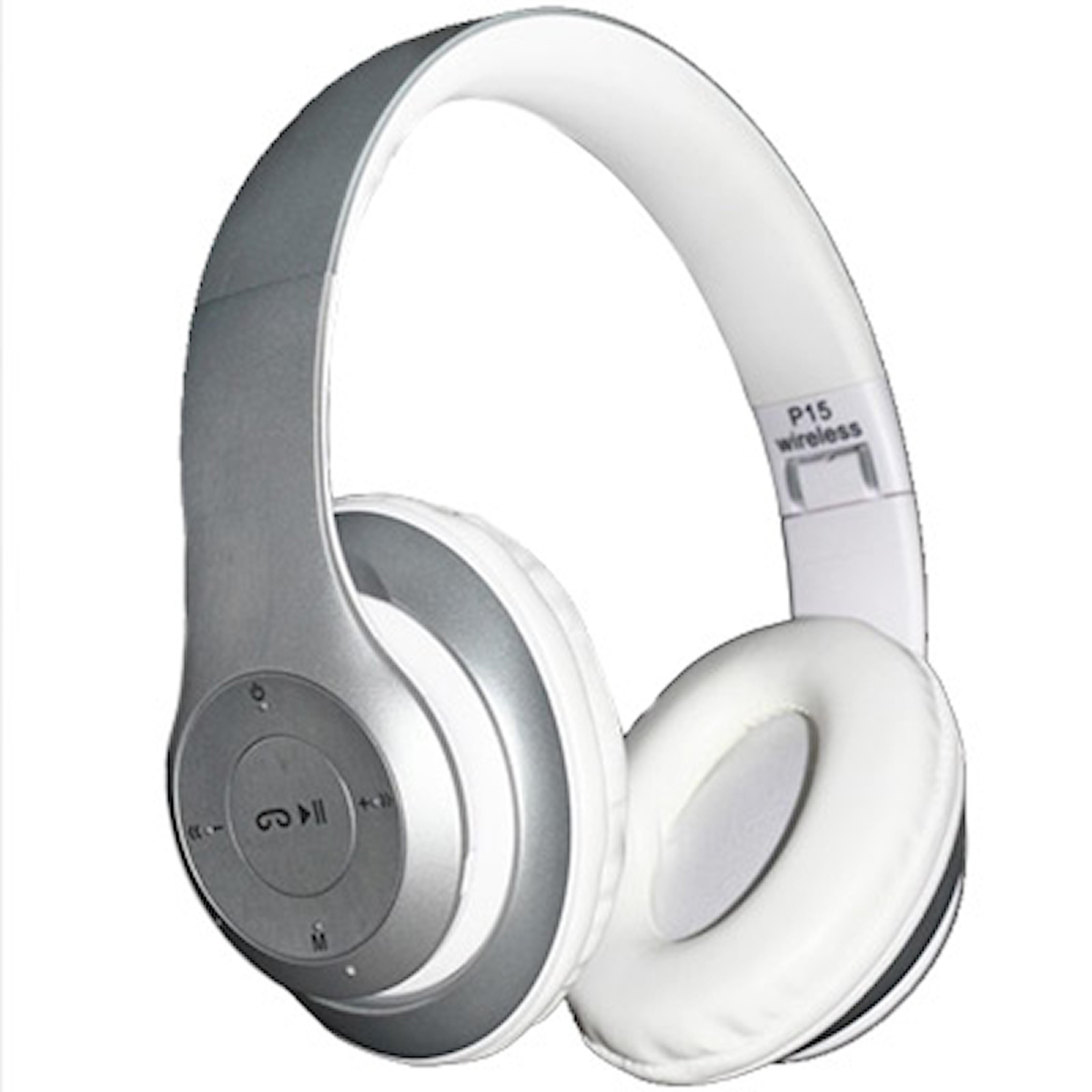 Vit, P15 Wireless Bluetooth Headset, P15 Trådlöst Headset, ,