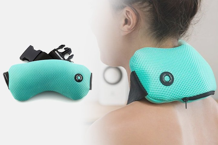 Vibrerande massagekudde