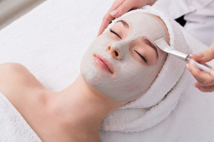 Lashlift och ansiktsbehandling