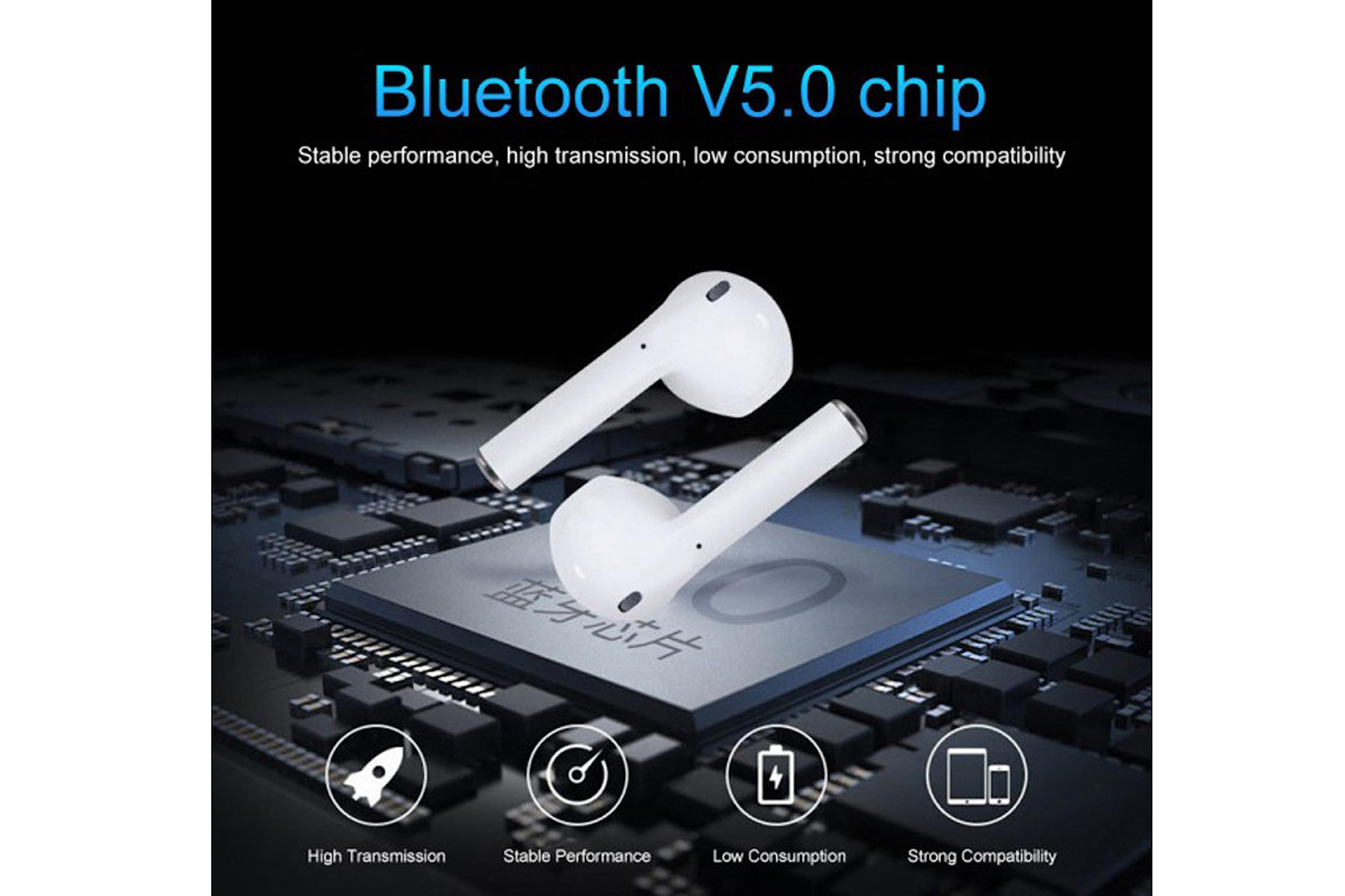 Uppgraderad modell! i14 TWS trådlösa Bluetooth-hörlurar