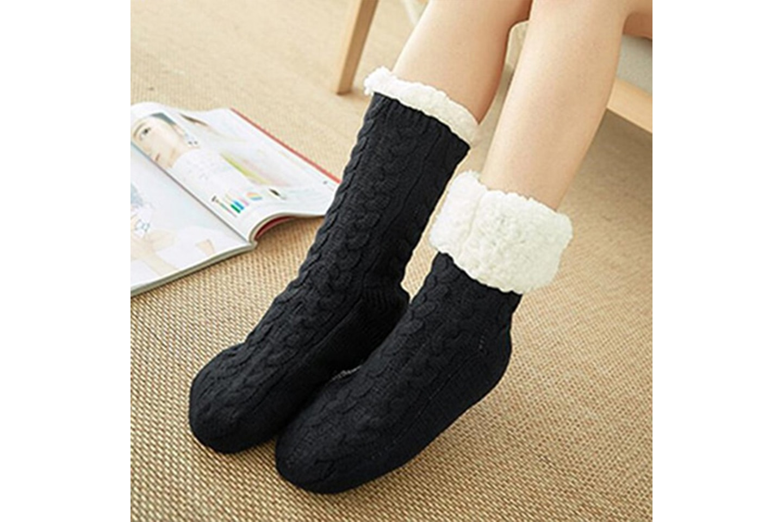 Halkfria sockor