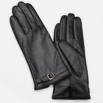 L, Lady Buckle, Gloves in leather Lady & Men, Skinnhandskar av äkta fårskinn, ,