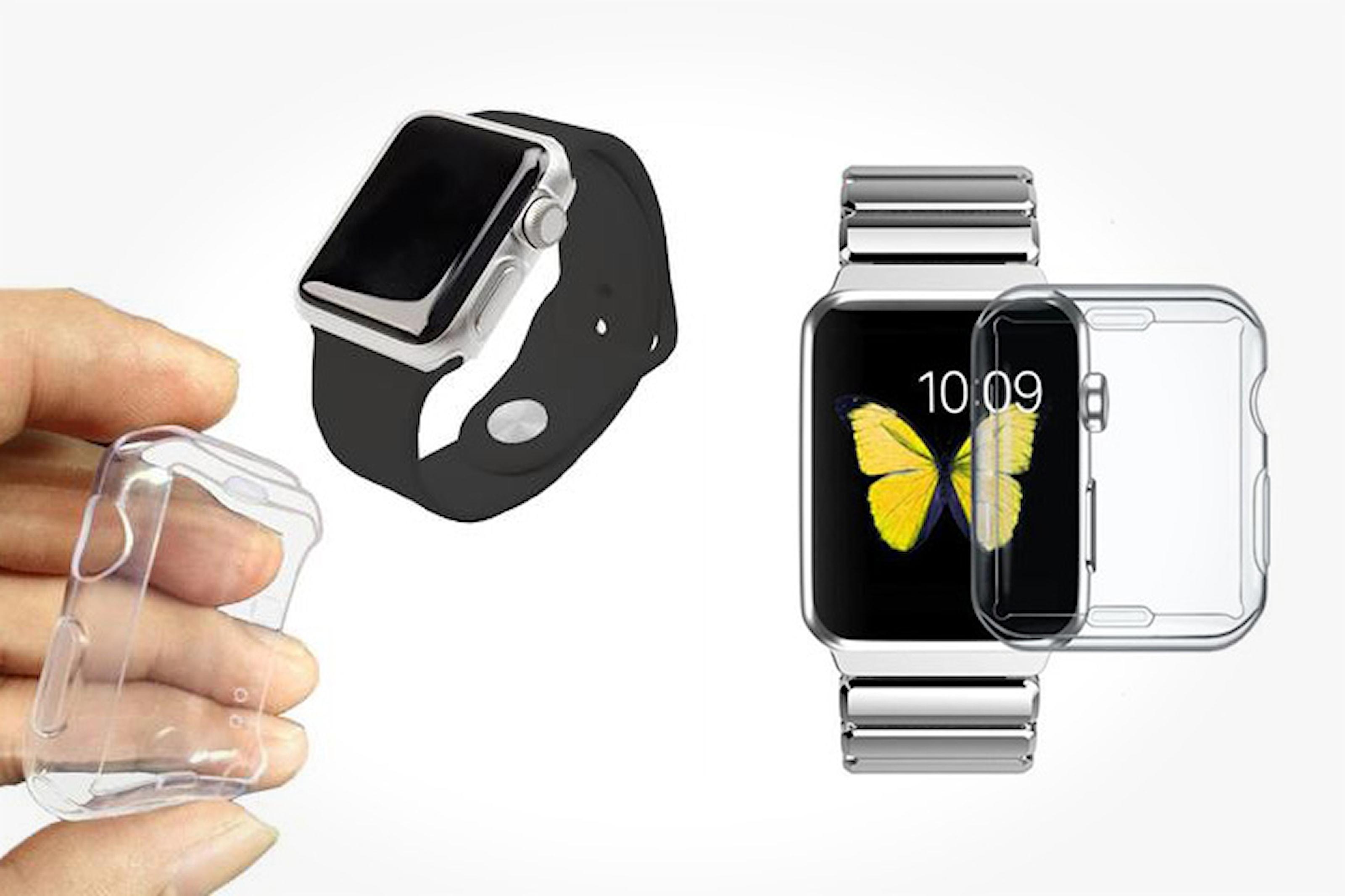 Genomskinligt skal till Apple Watch