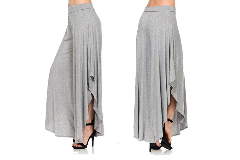 Bukser med vide ben