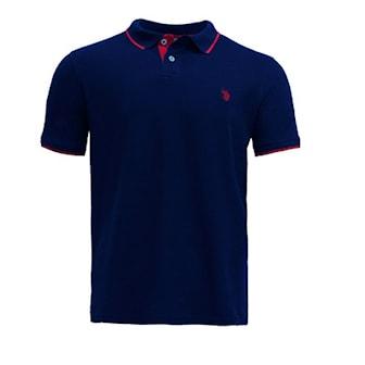 Svart, XL, US Polo Fashion Polos, Pique fra U.S. Polo Assn., ,