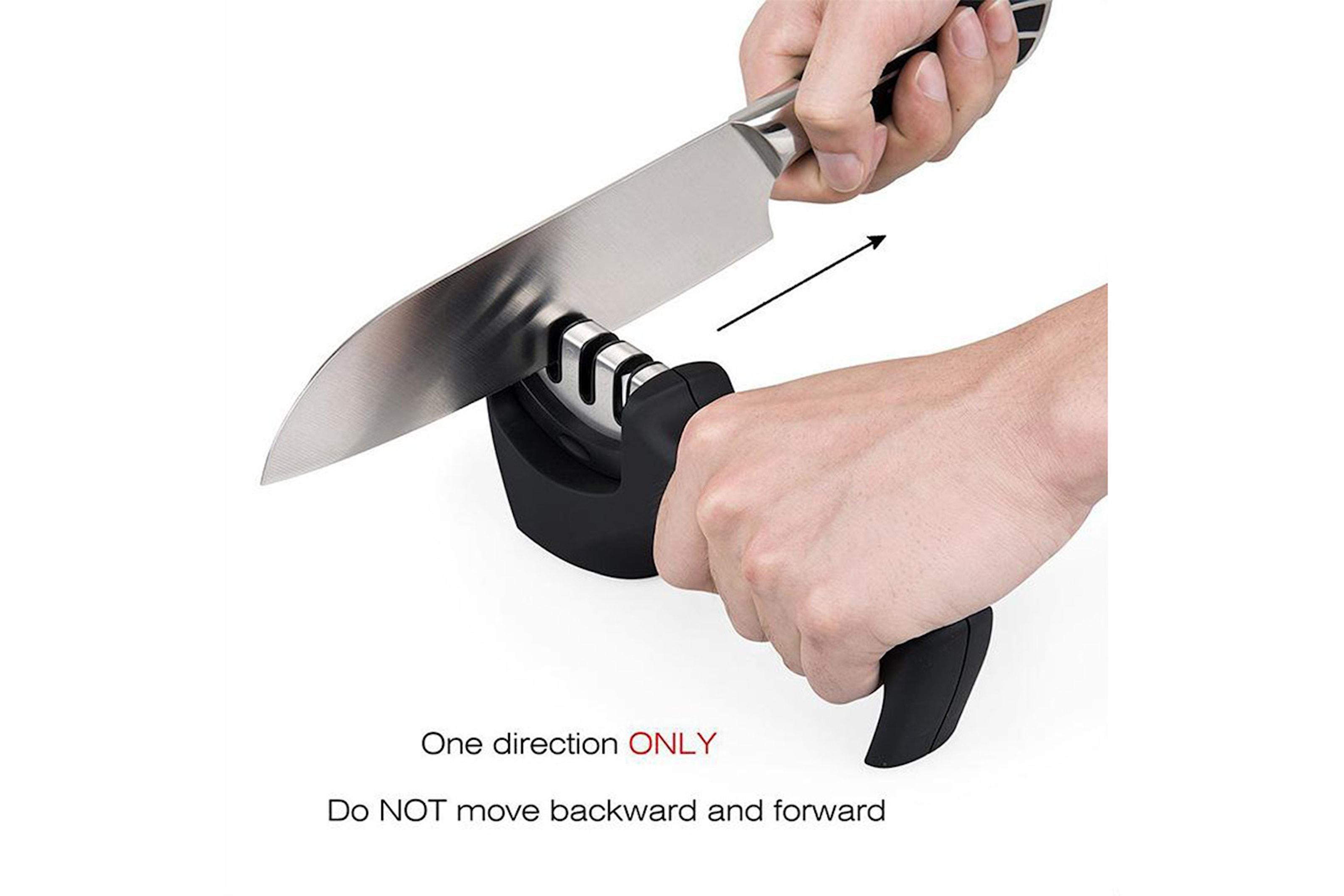 Ergonomisk knivsliper