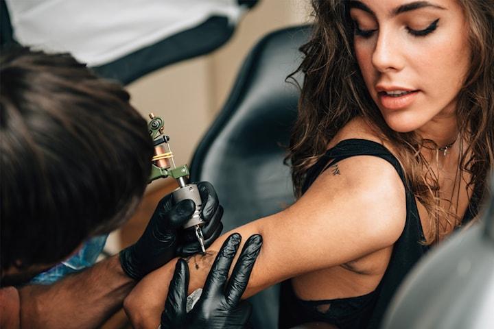 Tatuering hos Mantra Ink