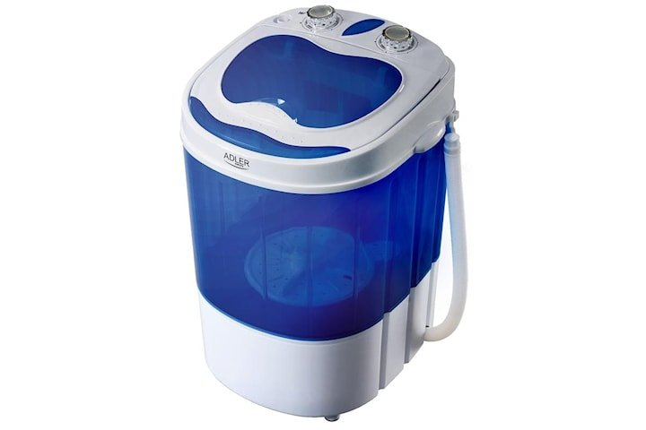 Adler Tvättmaskin + centrifug, Perfekt till husbilen