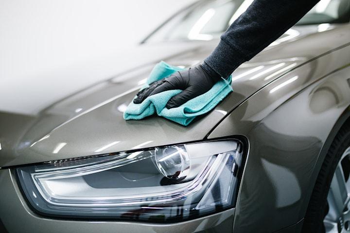 Helrekond med motortvätt och fordonskontroll