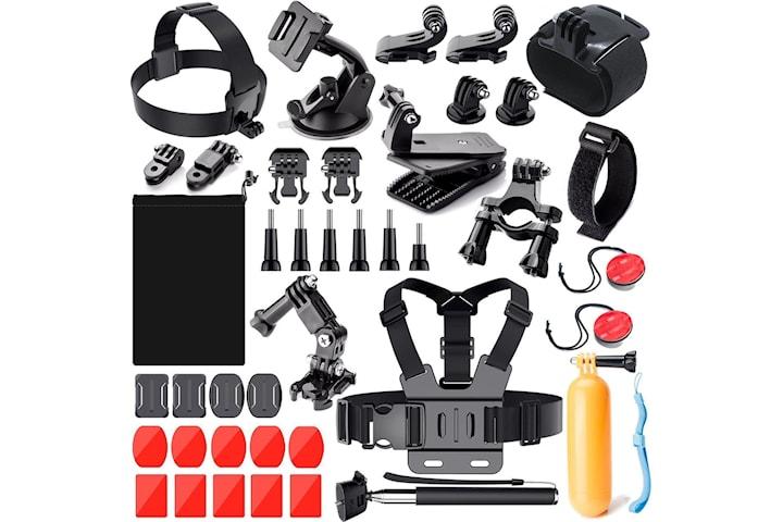 GoPro Tillbehör - 41 delar - Pro kit