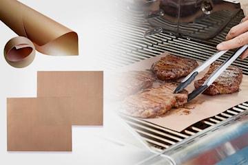 Grillmatte med teflonbelegg