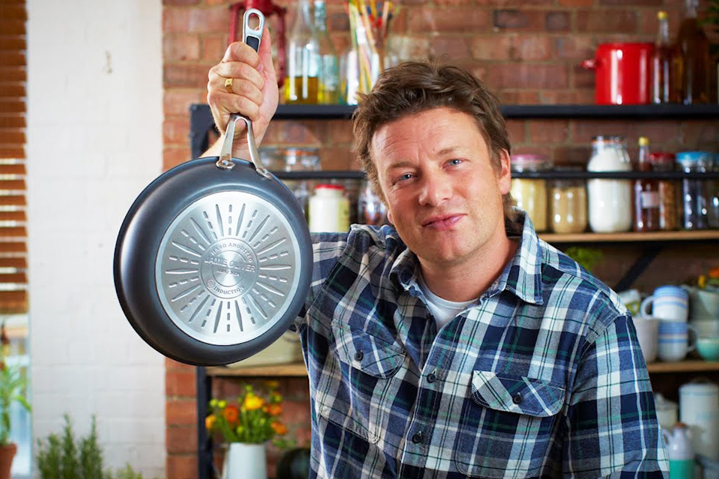 Jamie Oliver Everyday sautepanna inkl. lock