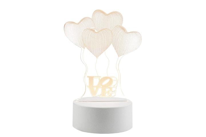 3D LED Lampa - Ballonger