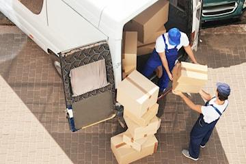 Flytthjälp från PB Miljöservice & Transport