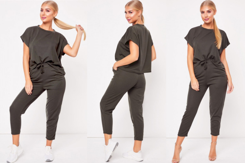 T-skjorte og kort bukse