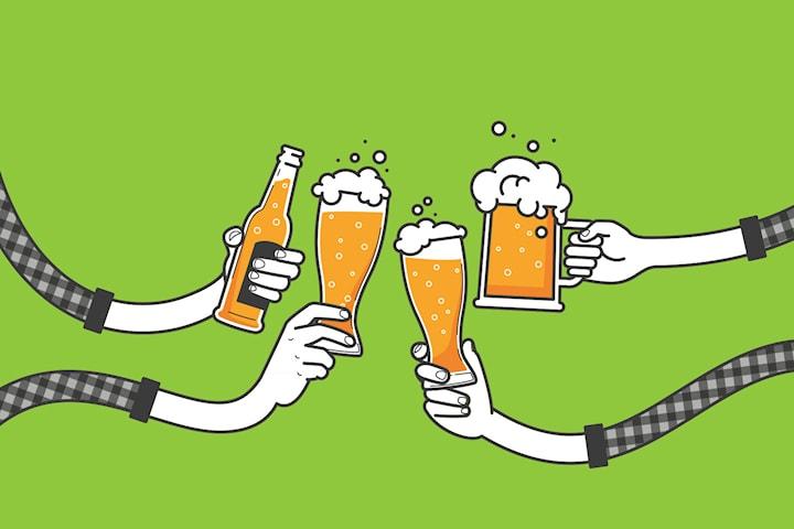 Ölprovning på Spike Brewery