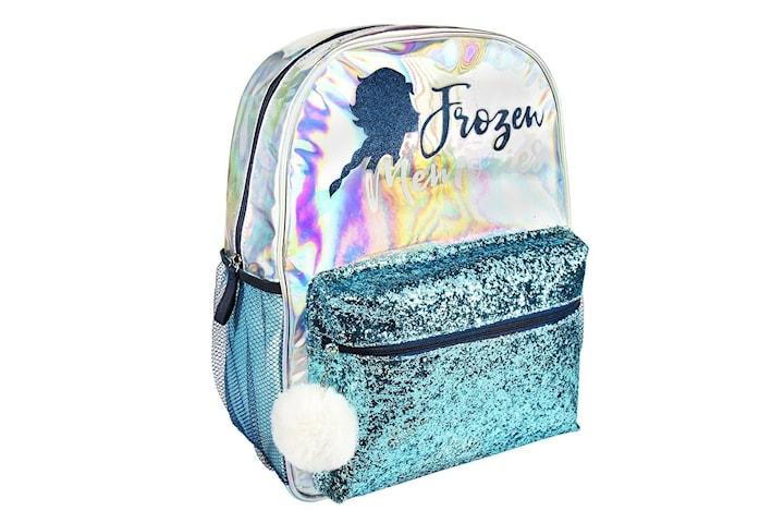 Frozen 2, Holografisk Ryggsäck - Silhuett 40 cm