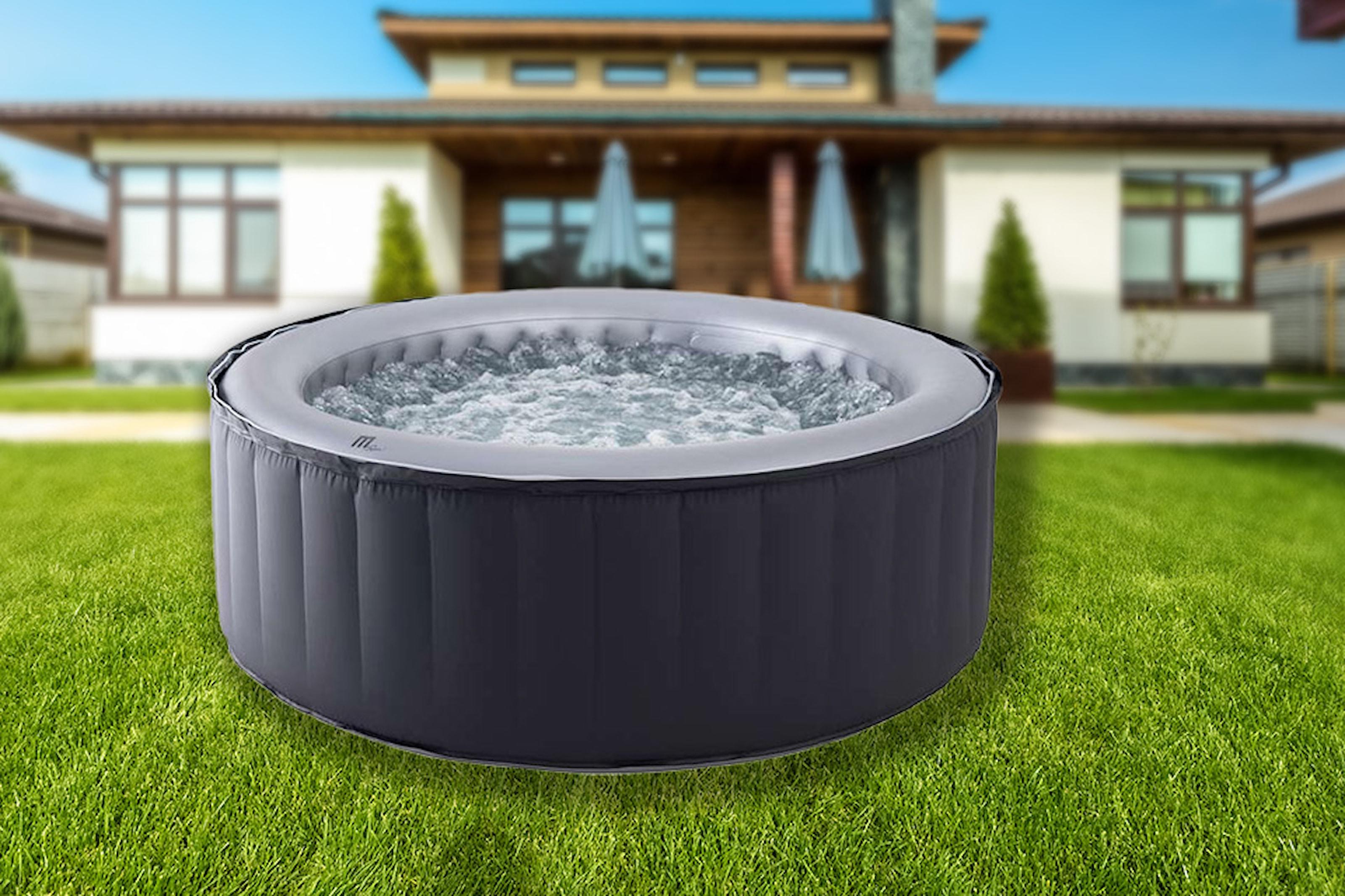 Uppblåsbar bubbelpool