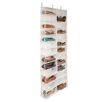 Vit, Door Shoe Storage, Skoställ, ,
