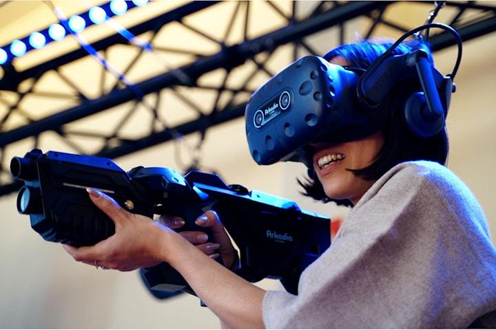 Adrenalinfyllda VR spel på Tido