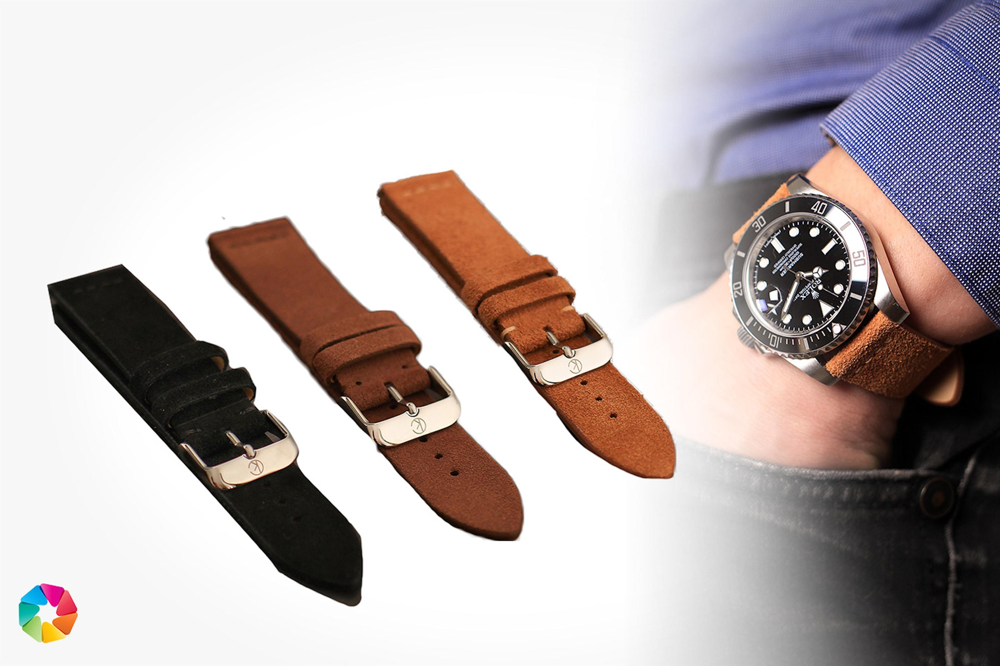 Klockarmband i mocka från Cederkvist