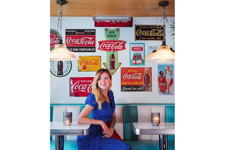 Få valgfri milkshake hos Roll & Rock American Diner i Bergen