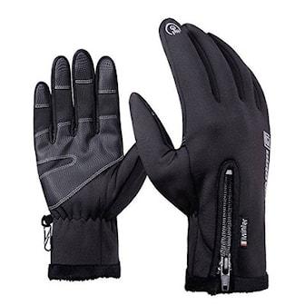 Svart, M, Warm Touch Screen Gloves, Touch-hansker, ,
