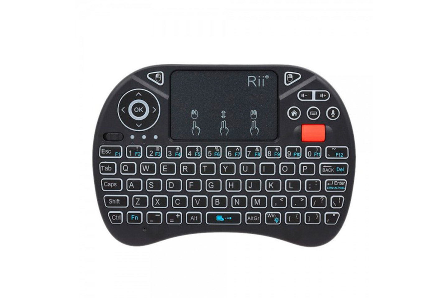 i8 tangentbord med touchpad