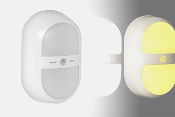 LED-lampa med rörelsesensor