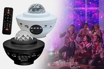 Projektorlampa med Bluetooth-högtalare