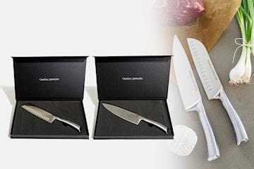 Orrefors Jernverk kockknivar 2-pack