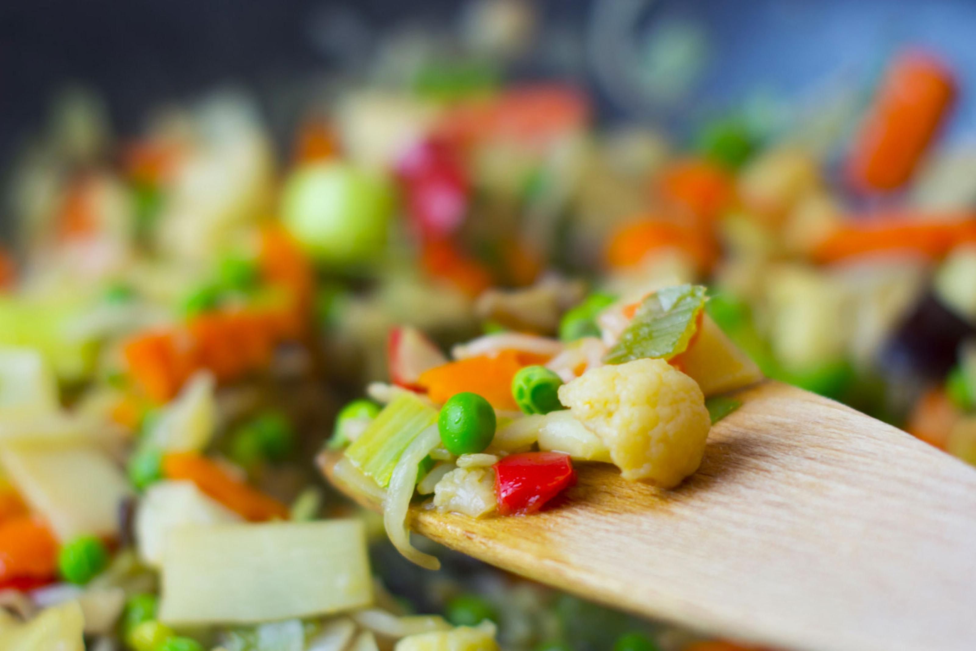 Indiska vegetariska smårätter
