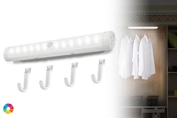 Smart hängare med LED-ljus