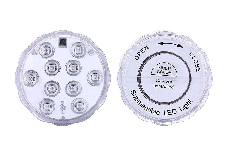 Undervattenslampa med fjärrkontroll