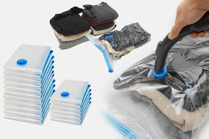 Vakuumpåsar för smart förvaring 2-6-pack