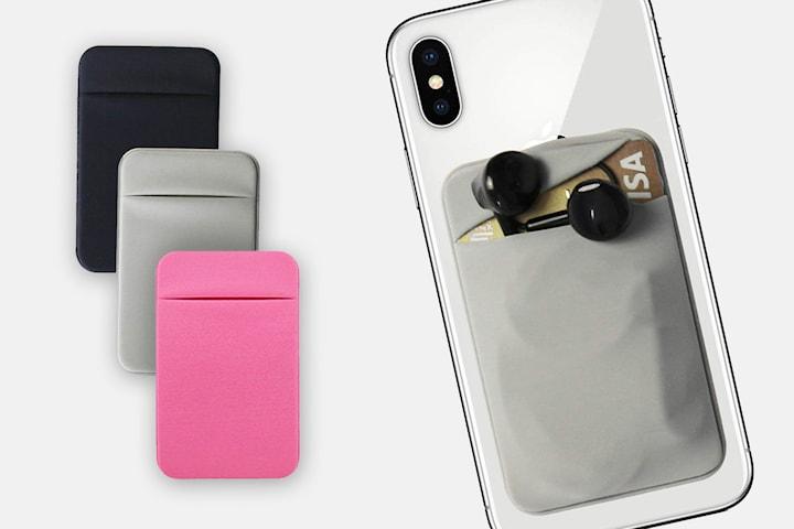 Smart korthållare som passar alla mobiler