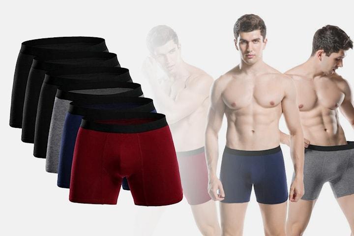 Boxerkalsonger 3 eller 6-pack