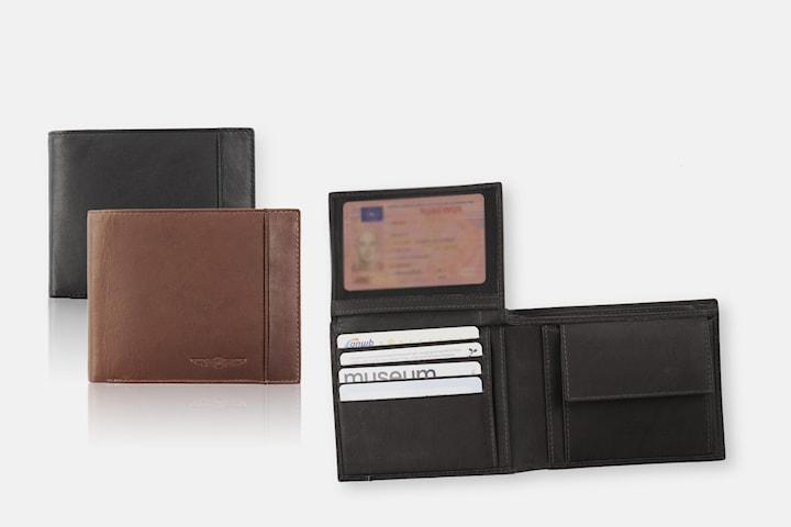 Plånbok i Billfold-design