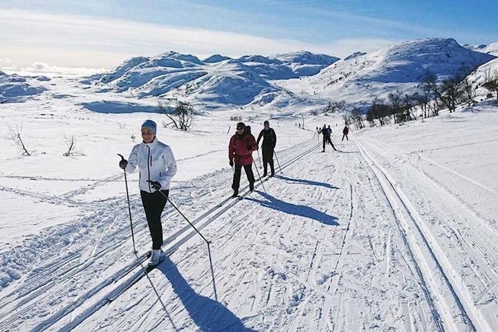 Full-pensjon helge-pakke for 2 på Raulandsfjell