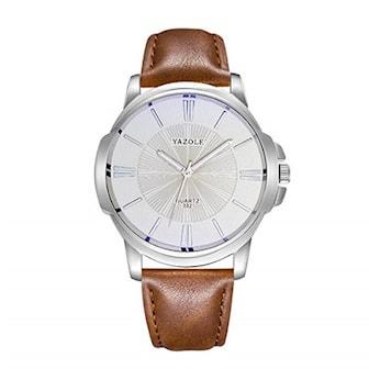 Brun, YAZOLE 332 Watch, Herrklocka Yazole 332, ,