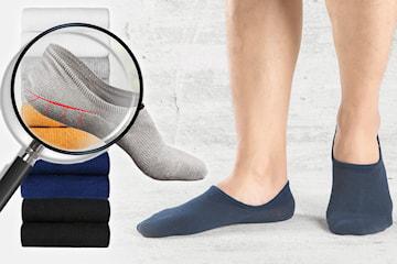 Sklisikre sokker herre 5- eller 10-pack