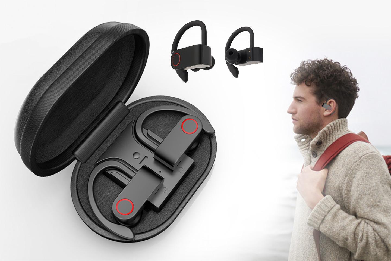 A9 TWS trådlösa hörlurar inklusive etui (1 av 26)